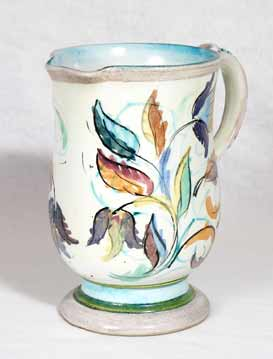Glyn Colledge floral jug