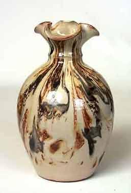 Dunster streaked vase
