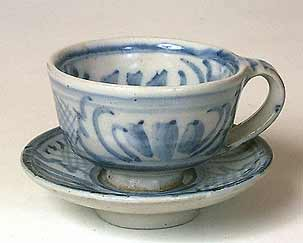 Seth Cardew cup and saucer