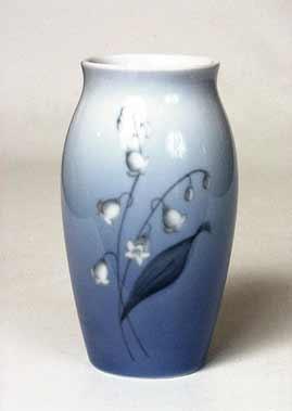 B & G snowdrop vase