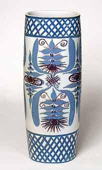 Large Copenhagen vase