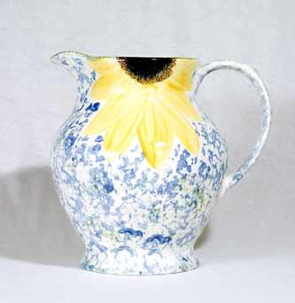 Large Poole 'Vincent' jug
