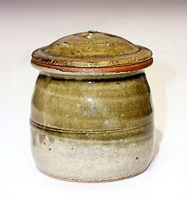 Small Batterham lidded jar