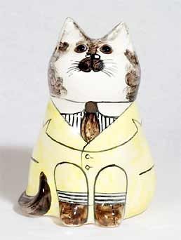 De Bethel yellow-jacket cat