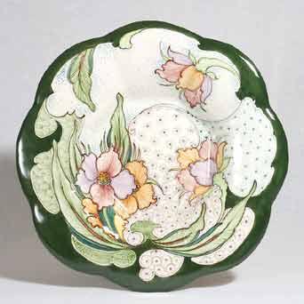 Gouda Jugendstil wall plate