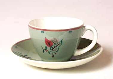 Poole cup and saucer