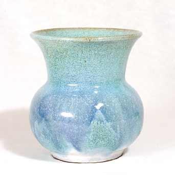 Flared Saunders IOW vase