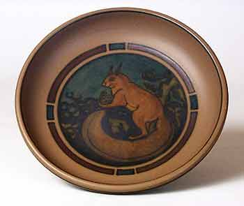 Hjorth squirrel bowl