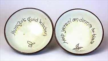 Cumnock porridge bowls