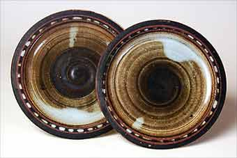Briglin tea plates