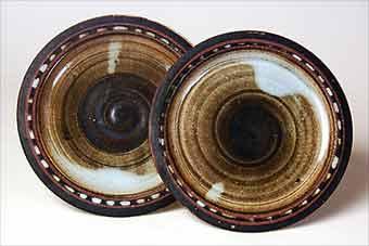 Briglin tea plates