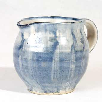 Blue Yelland jug