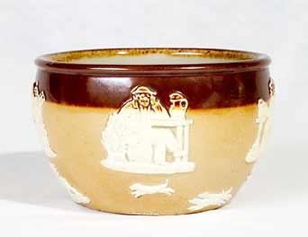 Doulton stoneware bowl