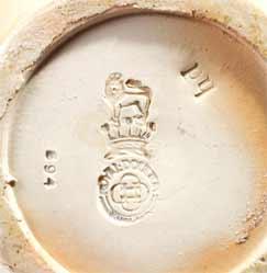 Doulton stoneware bowl (marks)