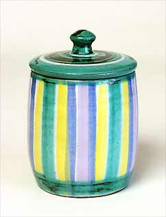 Lidded Tintagel pot