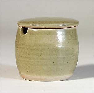 Leach mustard pot