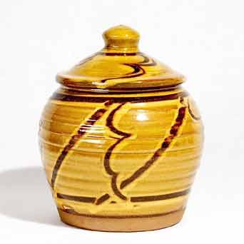 Clive Bowen lidded jar