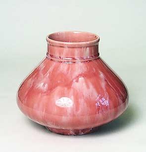 Pink Minton Astra vase