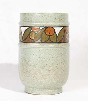 Poole Olympus stoneware vase