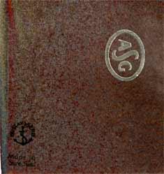 Gustavsberg 'ASG' tray (marks)