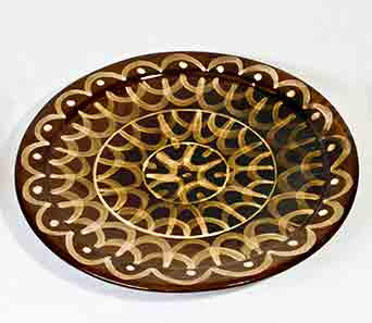 Wally Cole platter