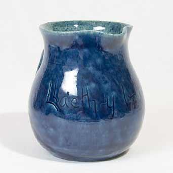 Twisty-handled Ewenny jug