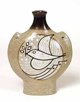 Dove of peace flask
