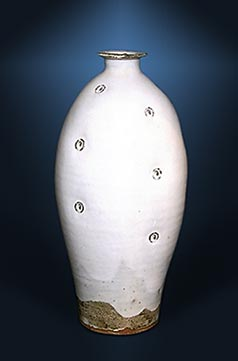 Malone stoneware vase