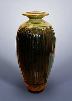 Tall Batterham vase