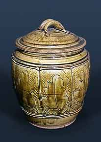 Mike Dodd lidded jar