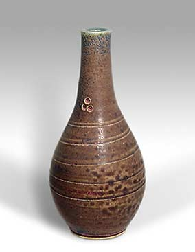 Brown St Agnes vase