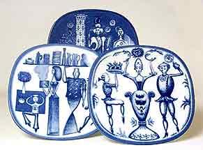 Rorstrand Jubilee plates