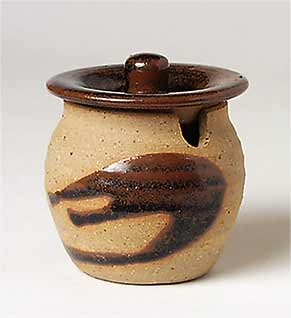Alan Brough mustard pot
