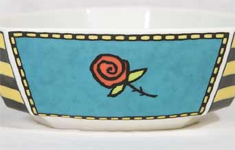 Rosenthal Flash Love Story bowl (side)