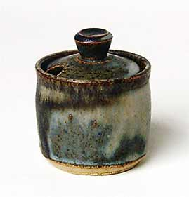 Anchor mustard pot