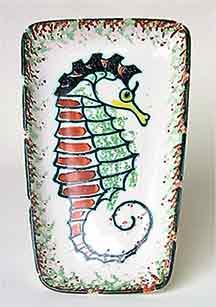 Honiton seahorse dish
