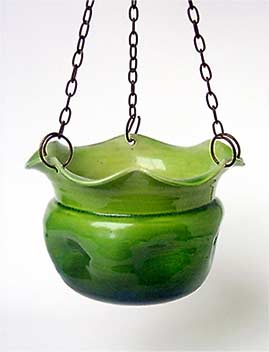 Bretby hanging pot