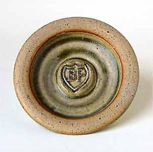 Colin Pearson BP ashtray