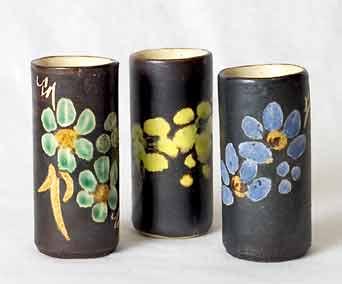 Small Marazion cylindrical pots