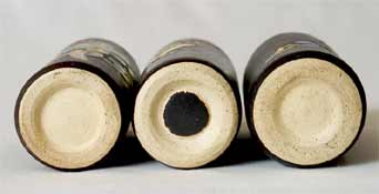 Small Marazion cylindrical pots (bases)