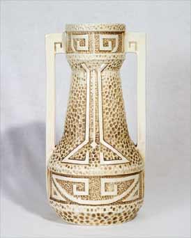 Bretby Clanta vase
