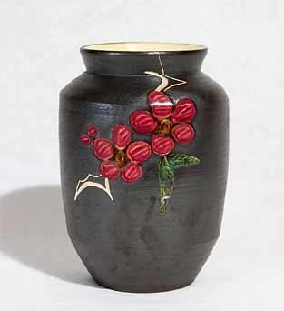 Marazion berry vase