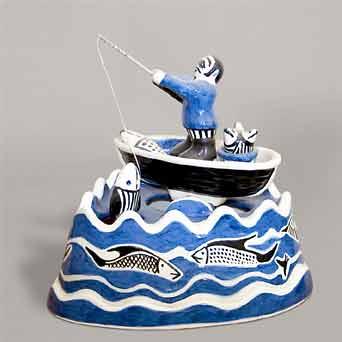 Bernard Moss 'Fisherman'