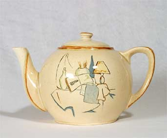 Very unusual Ashtead teapot