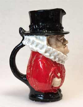 Chelsea beefeater jug (side)