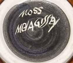 Brown Bernard Moss bowl (mark)