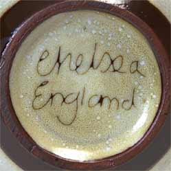 Floral Chelsea jug (mark)