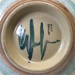 Denby Glyn Colledge bowl (mark)