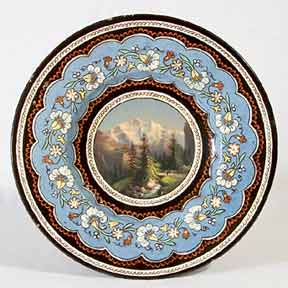 Thoune scenic plate I