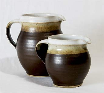 Pair of Marianne de Trey jugs